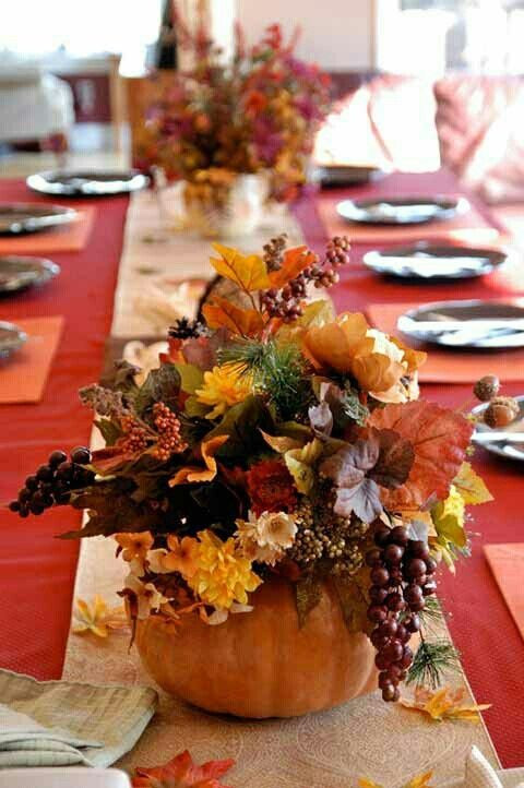 Simple Thanksgiving Table Decorations  25 Beautiful Fall Wedding Table Decoration Ideas Style