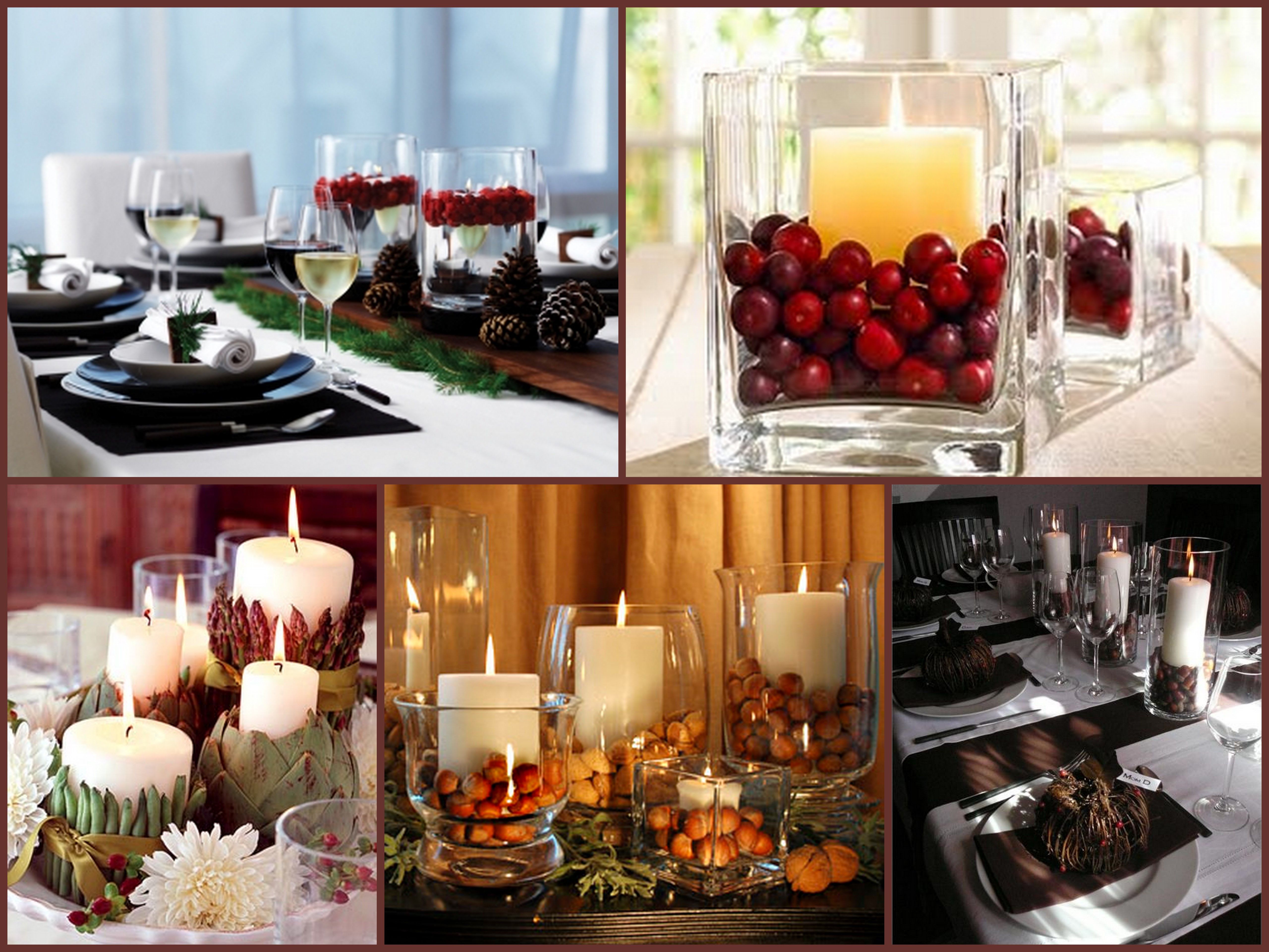 Simple Thanksgiving Table Decorations  Last Minute Holiday Centerpiece – A S D INTERIORS BLOG