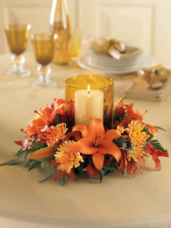 Simple Thanksgiving Table Decorations  Easy Thanksgiving Table Decoration Thanksgiving