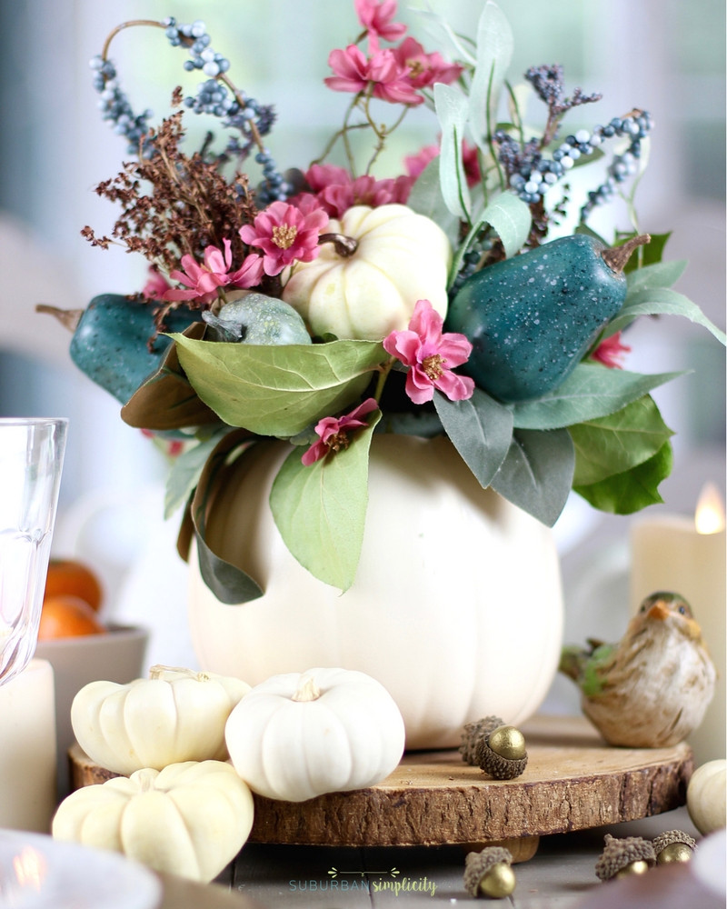 Simple Thanksgiving Table Decorations  Easy Thanksgiving Table Decorations
