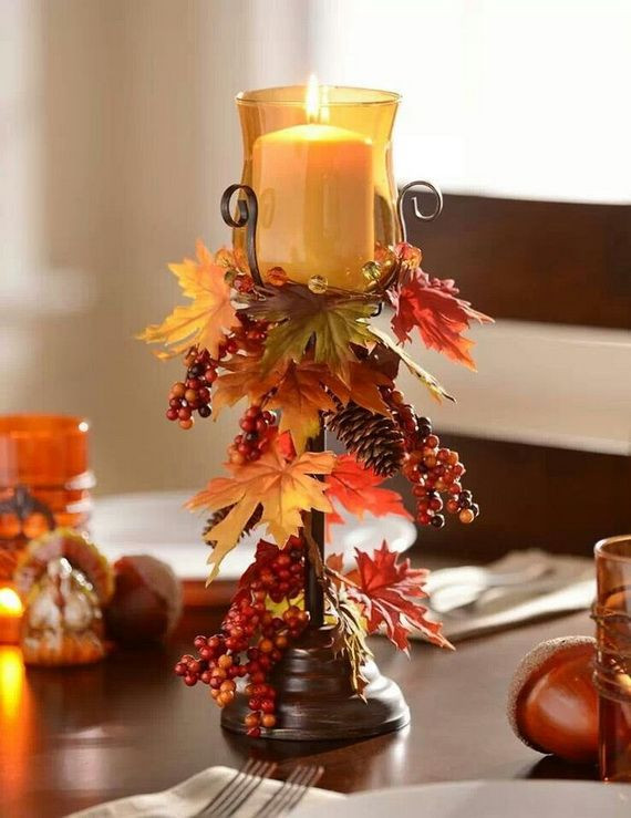 Simple Thanksgiving Table Decorations  20 Easy Thanksgiving Decorations for Your Home