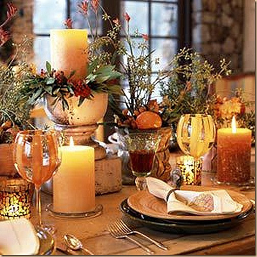 Simple Thanksgiving Table Decorations  301 Moved Permanently
