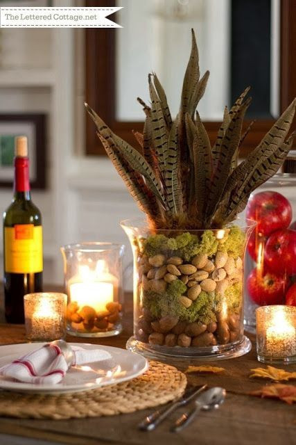 Simple Thanksgiving Table Decorations  Summerland Homes & Gardens Thanksgiving Tablescapes