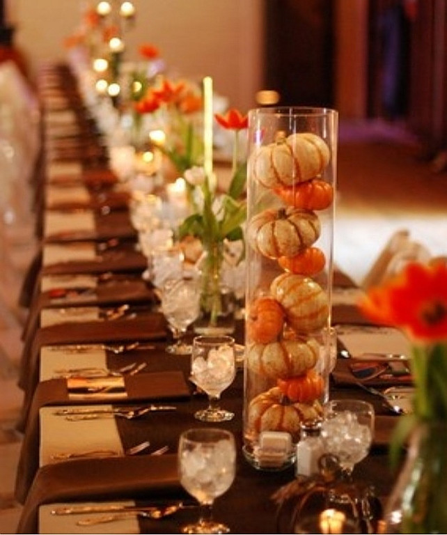 Simple Thanksgiving Table Decorations  Easy Thanksgiving Decorating Ideas Home Bunch Interior