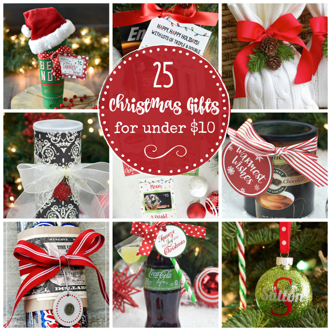 Small Holiday Gift Ideas  25 Creative & Cheap Christmas Gifts that Cost Under $10