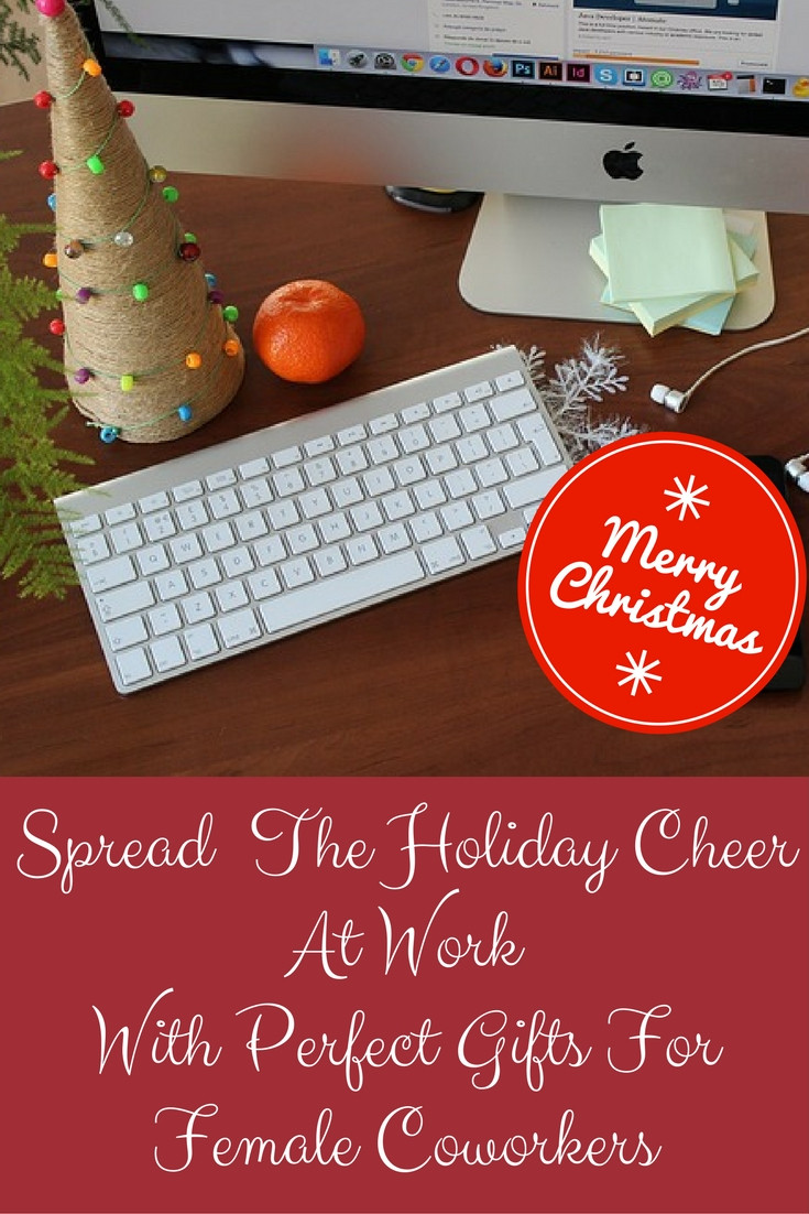Small Holiday Gift Ideas  Christmas Gift Ideas Female Coworkers Would Certainly