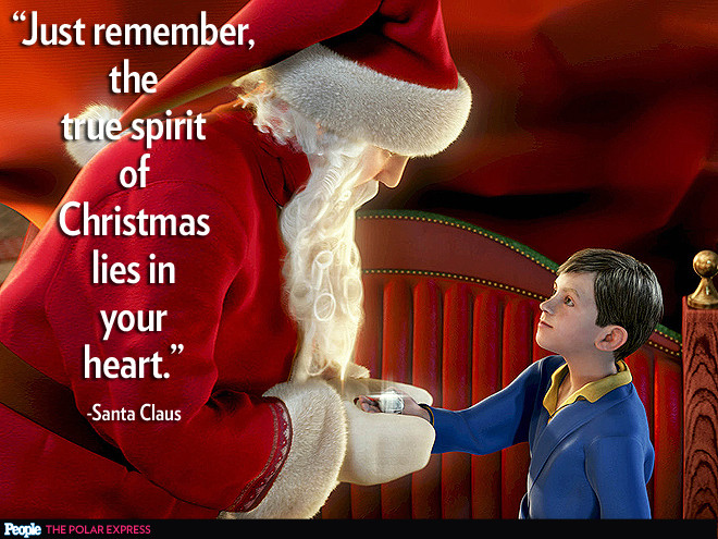 Spirit Of Christmas Quotes  It s a Wonderful Life Elf Charlie Brown Christmas Quotes
