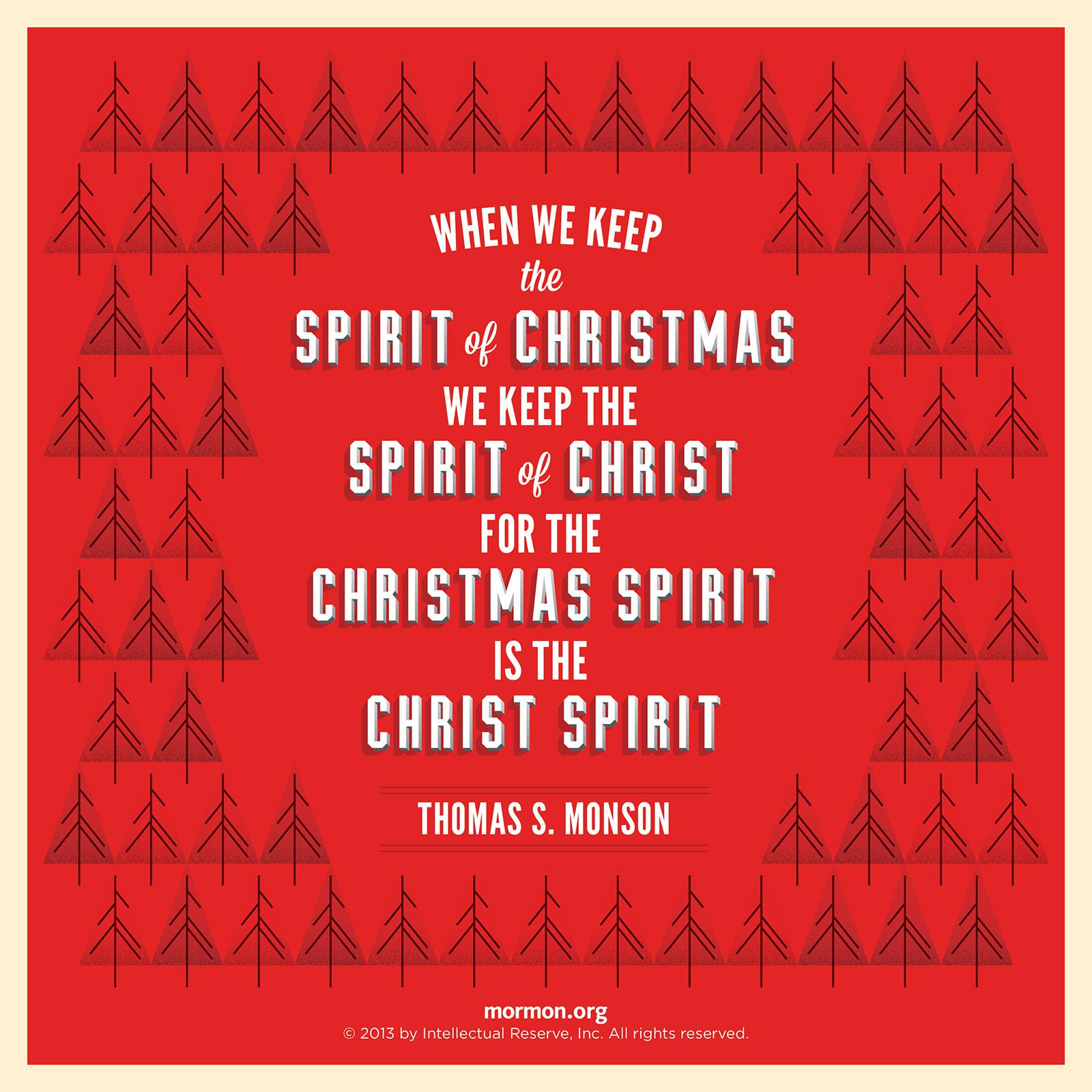 Spirit Of Christmas Quotes  Christmas Spirit