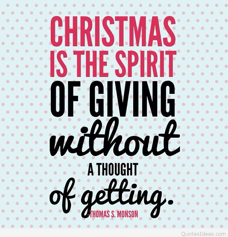 Spirit Of Christmas Quotes  inspirational Christmas quote