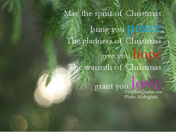 Spirit Of Christmas Quotes  Quotes About Holiday Spirit QuotesGram