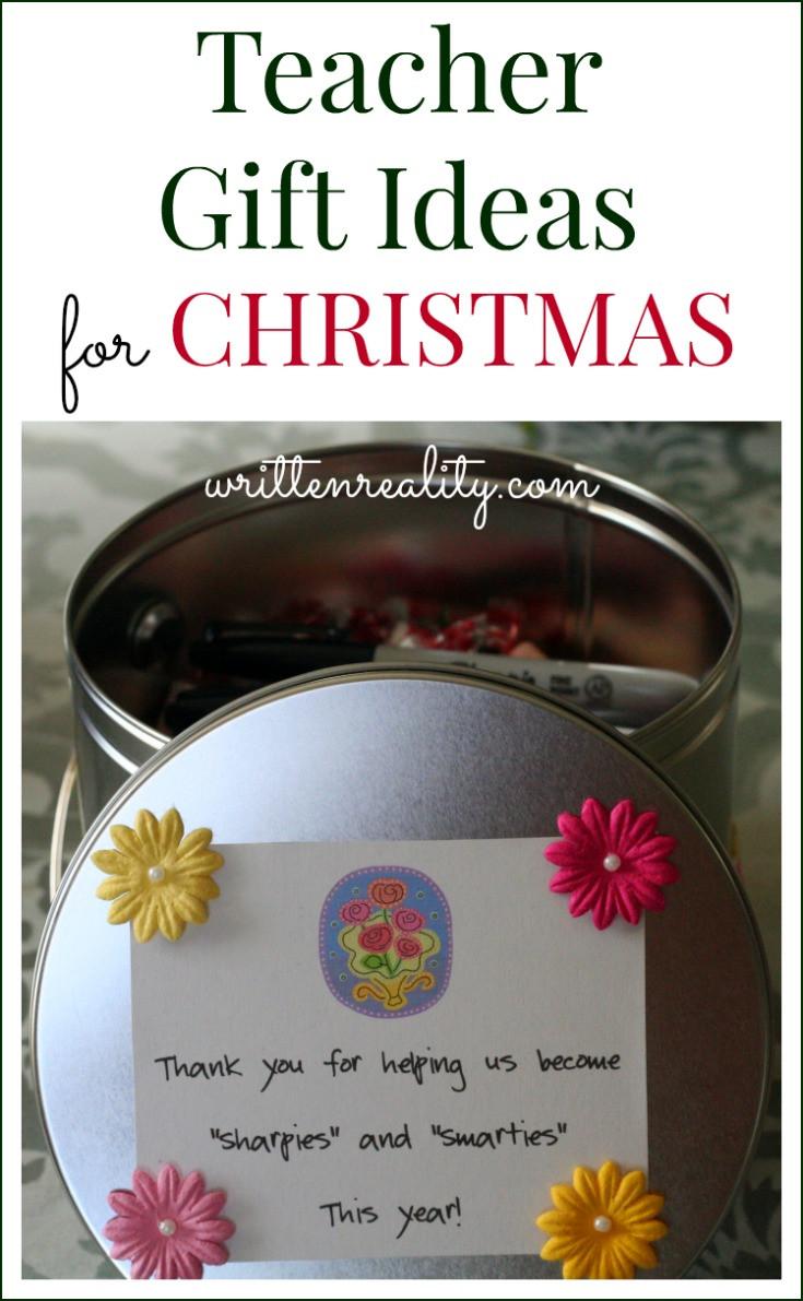 Teacher Christmas Gift Ideas  Teacher Gift Ideas for Christmas