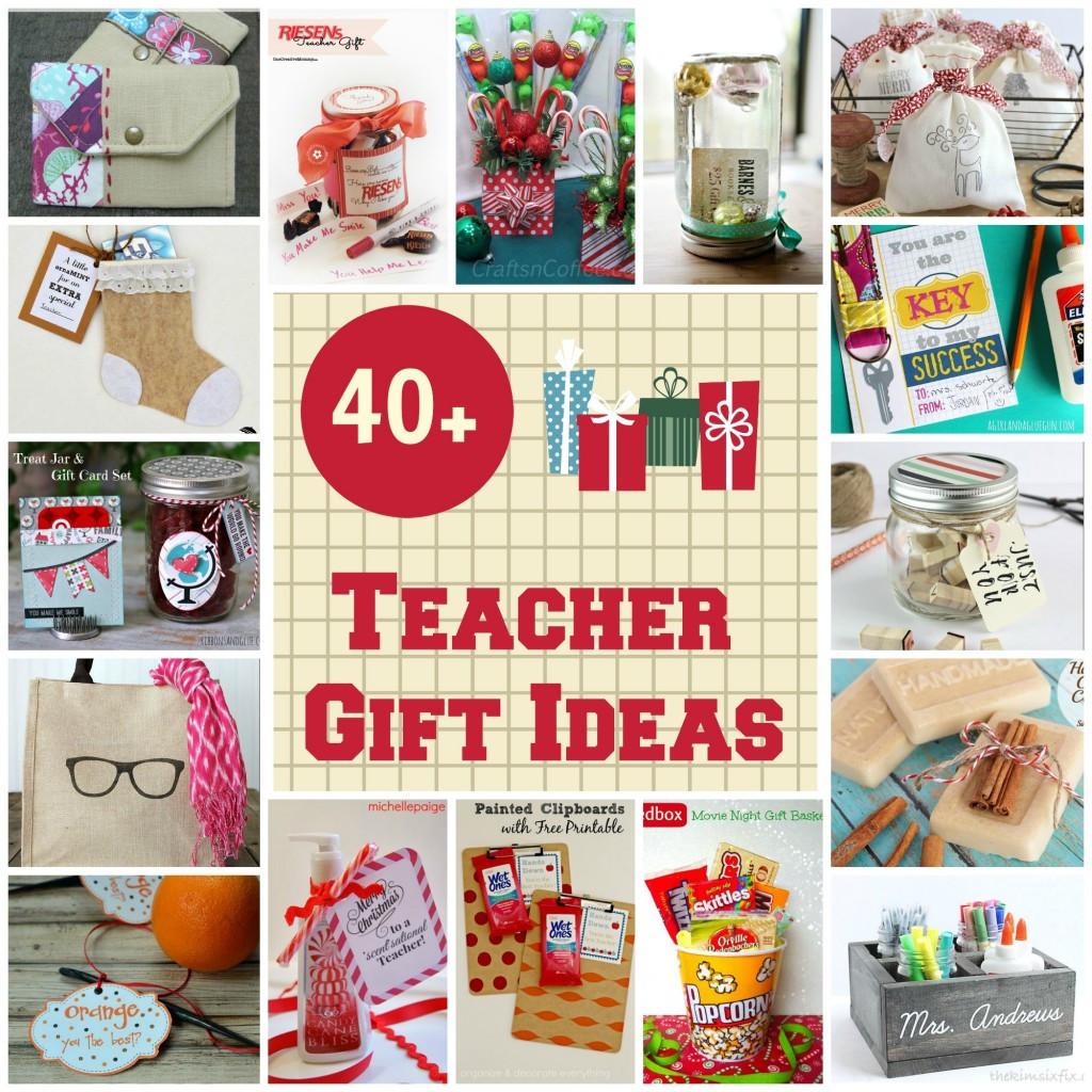Teacher Christmas Gift Ideas  40 Christmas Gift Ideas for Teachers Organize and