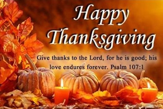 Thanksgiving Christian Quotes  Happy Thanksgiving Give Thanks To The Lord
