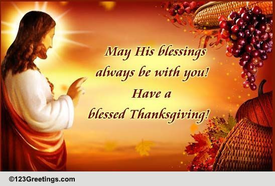 Thanksgiving Christian Quotes  Thanksgiving Bible Quote Free Happy Thanksgiving eCards