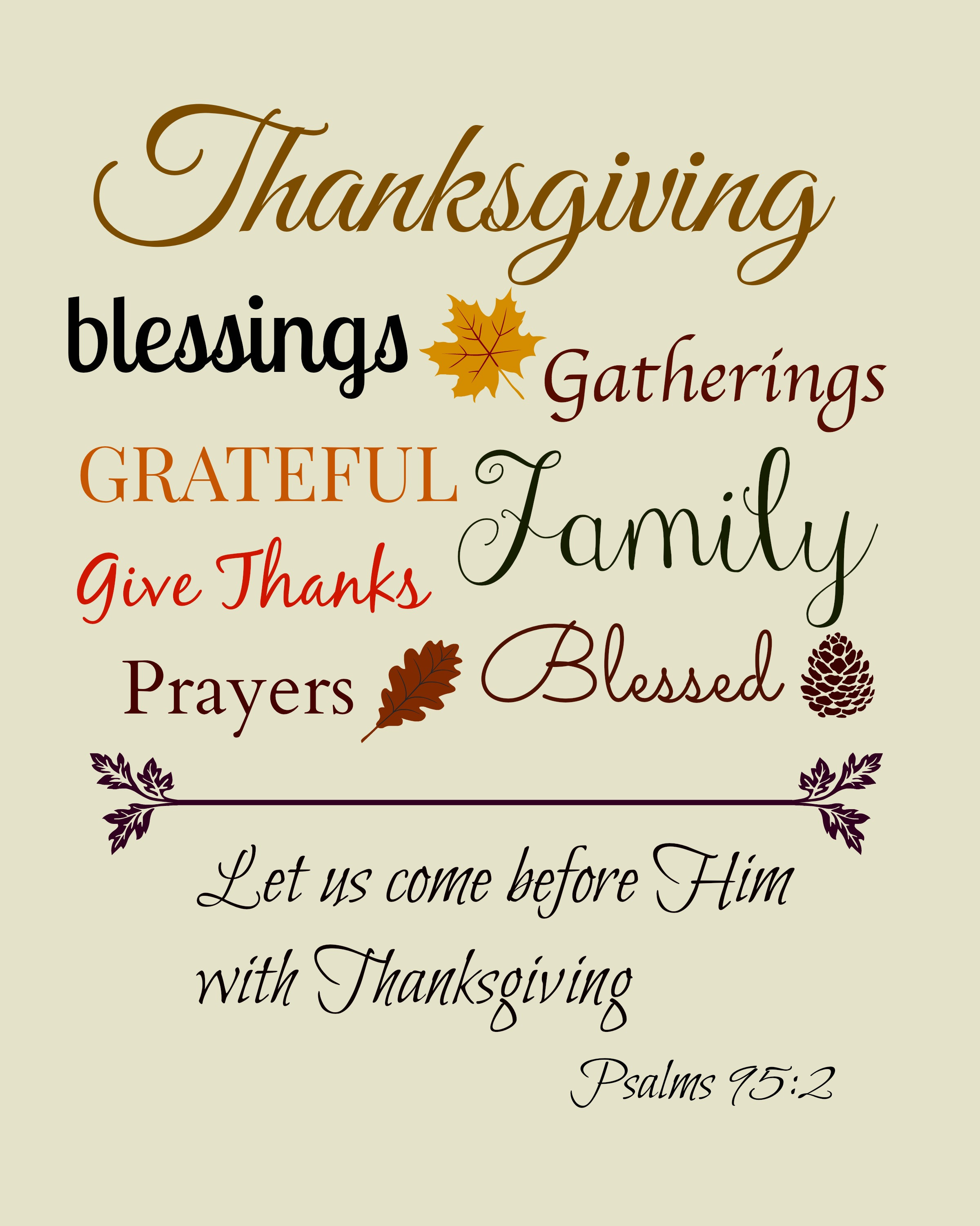 Thanksgiving Christian Quotes  Thanksgiving clipart scripture Pencil and in color