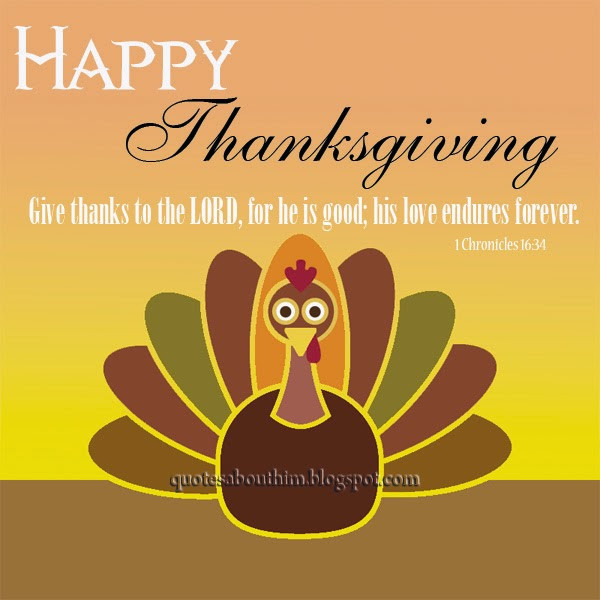 Thanksgiving Christian Quotes  Happy Thanksgiving card & Christian quotes