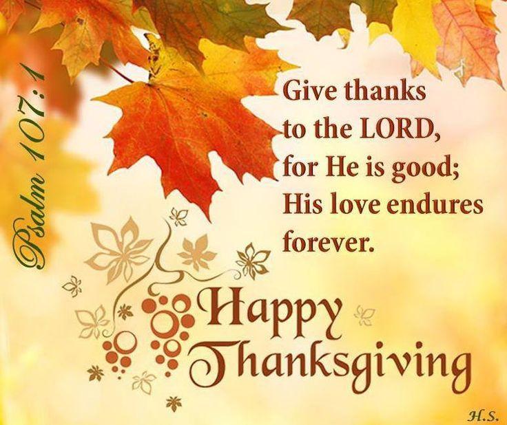 Thanksgiving Christian Quotes  Happy Thanksgiving Randomness Pinterest