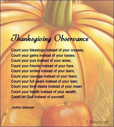 Thanksgiving Christian Quotes  thanksgiving poems for kids christian