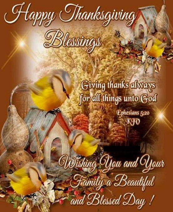 Thanksgiving Christian Quotes  Happy Thanksgiving Blessings Religious Quote