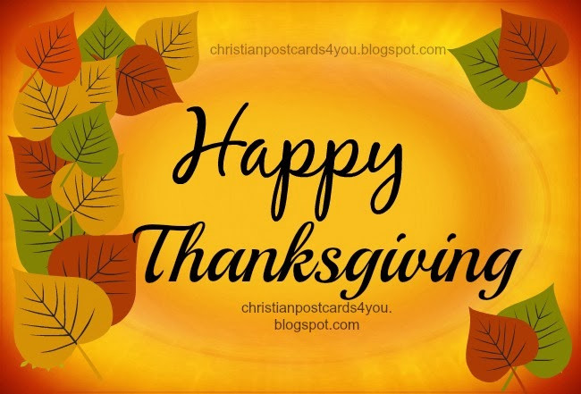 Thanksgiving Christian Quotes  Happy Thanksgiving