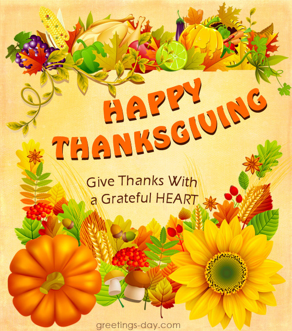 Thanksgiving Day Quotes  Free Thanksgiving Greeting Cards Messages & Wishes