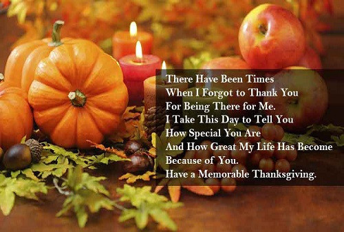 Thanksgiving Day Quotes  Happy Thanksgiving 2017 – Famous Quotes To With Your