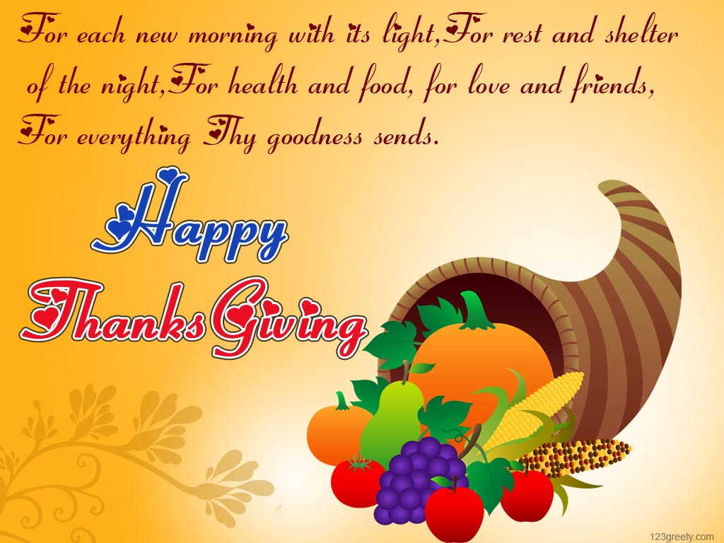 Thanksgiving Day Quotes  Thanksgiving Day 2013 – 123greety