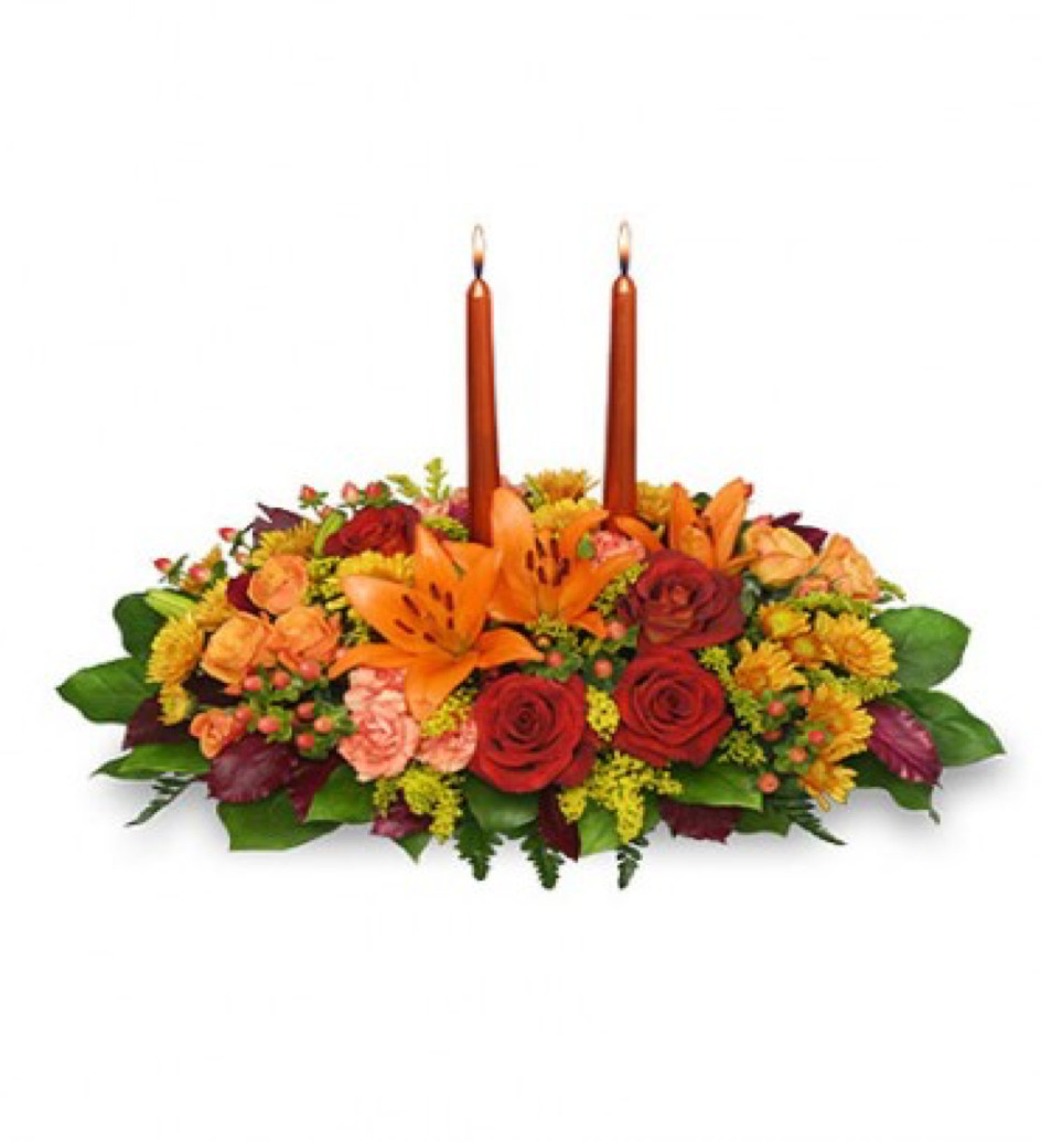 Thanksgiving Flower Delivery  Thanks Giving Feast – Burwell Floral & Bridal Loft
