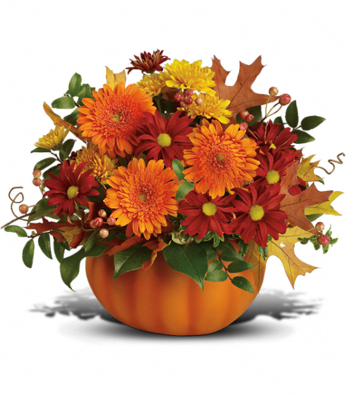 Thanksgiving Flower Delivery  Fall Splendor Somethin Pumpkin Columbus OH Florist