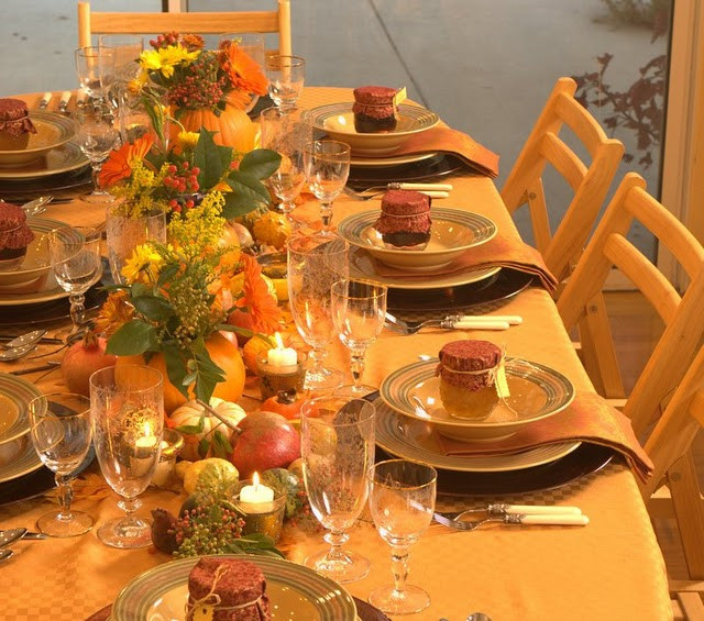 Thanksgiving Table Decor Ideas  Home Decoration Design Decoration Ideas for Thanksgiving