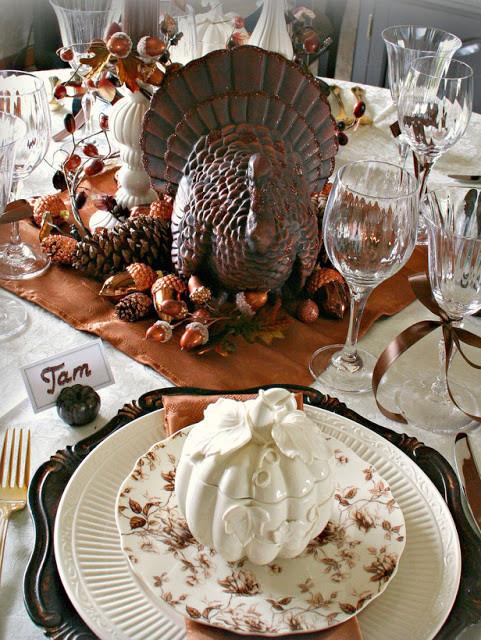 Thanksgiving Table Decor Ideas  Modern Furniture Design Thanksgiving Table Settings