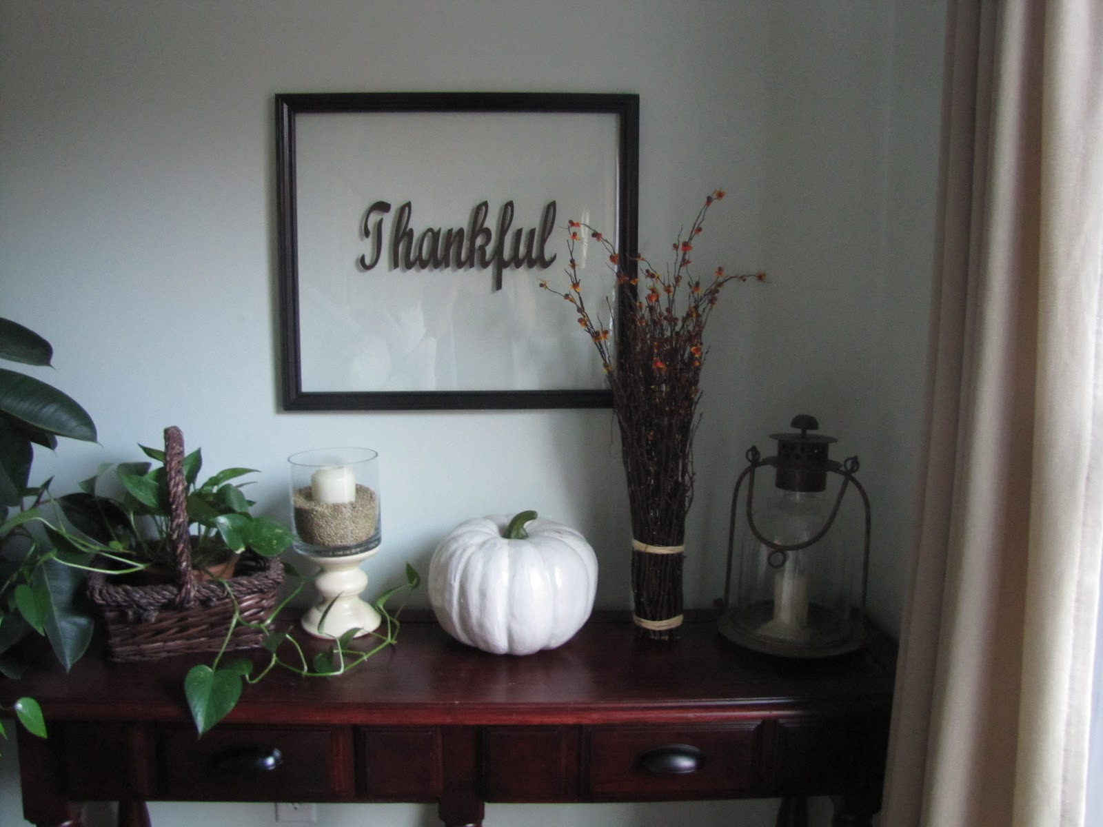 Thanksgiving Wall Art  The Evolution of Home Thanksgiving DIY Wall Decor