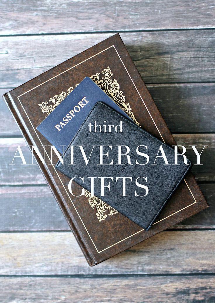 Third Anniversary Gift Ideas  3rd Anniversary Gifts