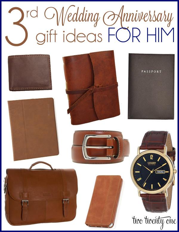 Third Anniversary Gift Ideas  3rd Wedding Anniversary Gift Ideas