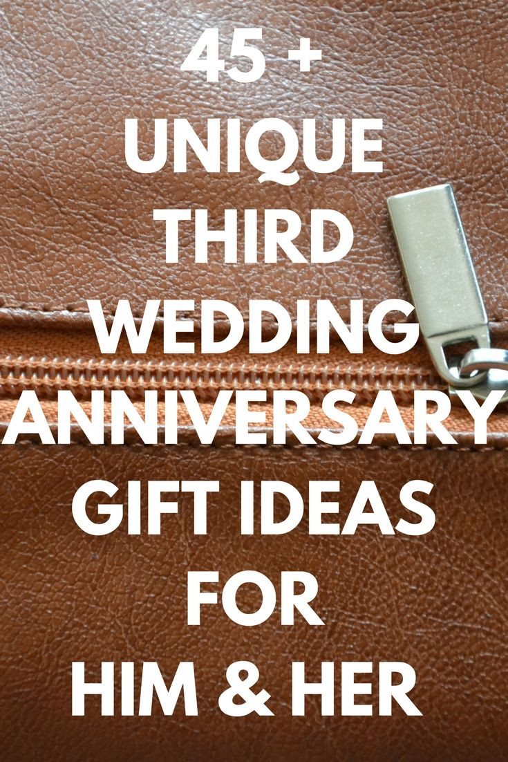 Third Anniversary Gift Ideas  25 great ideas about 3rd Wedding Anniversary on Pinterest