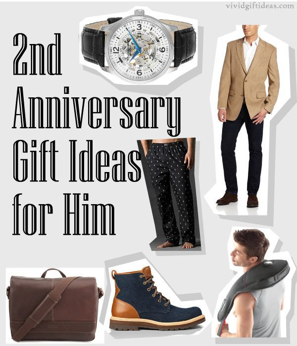 Third Anniversary Gift Ideas  2nd Anniversary Gifts For Husband