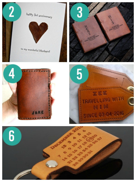 Third Anniversary Gift Ideas  Anniversary Gifts By Year for Spouses From The Dating Divas