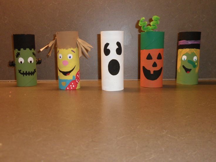 Toilet Paper Roll Halloween Crafts  Toilet Paper Roll Halloween Creations
