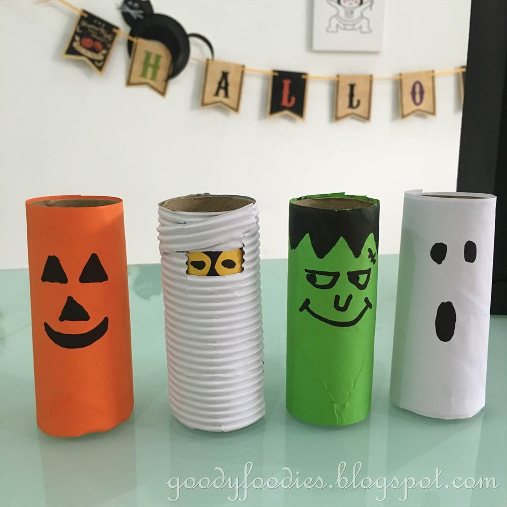Toilet Paper Roll Halloween Crafts  GoodyFoo s 5 Fun Halloween Crafts To Do with Your Kids