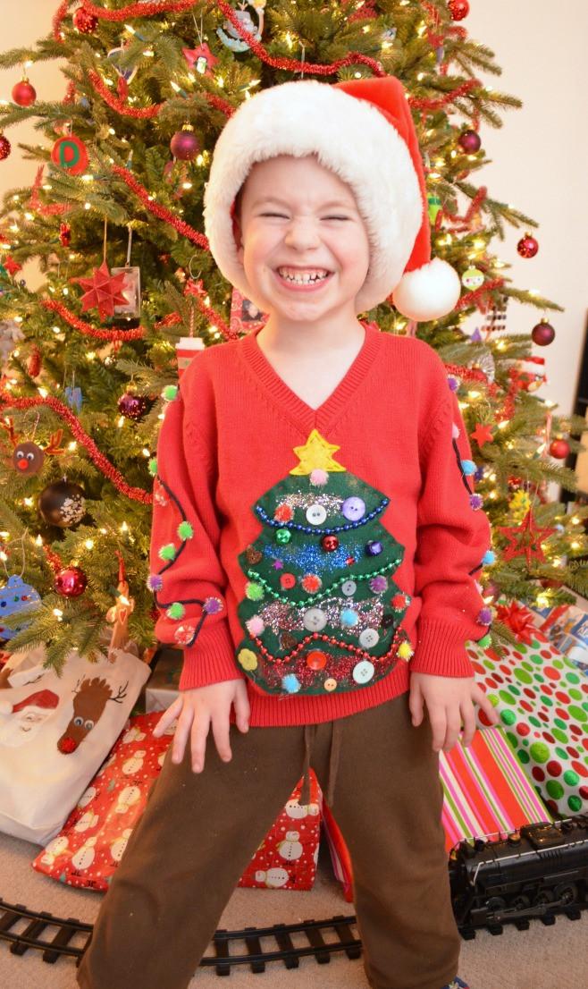 Ugly Christmas Sweater Ideas DIY  DIY Ugly Sweater Amy Latta Creations