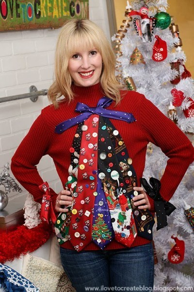 Ugly Christmas Sweater Ideas DIY  Make Your Own Ugly Christmas Sweater with These 10