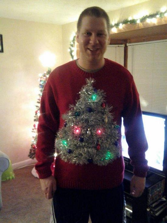 Ugly Christmas Sweater Ideas DIY  26 Easy DIY Ugly Christmas Sweater Ideas Snappy