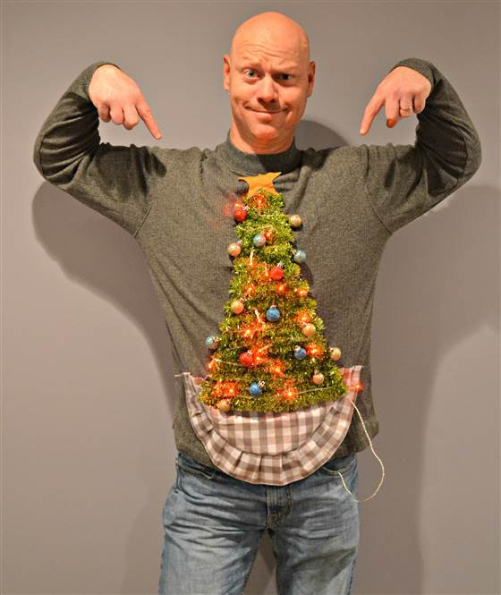 Ugly Christmas Sweater Ideas DIY  15 Do It Yourself Ugly Christmas Sweaters Oh My Creative