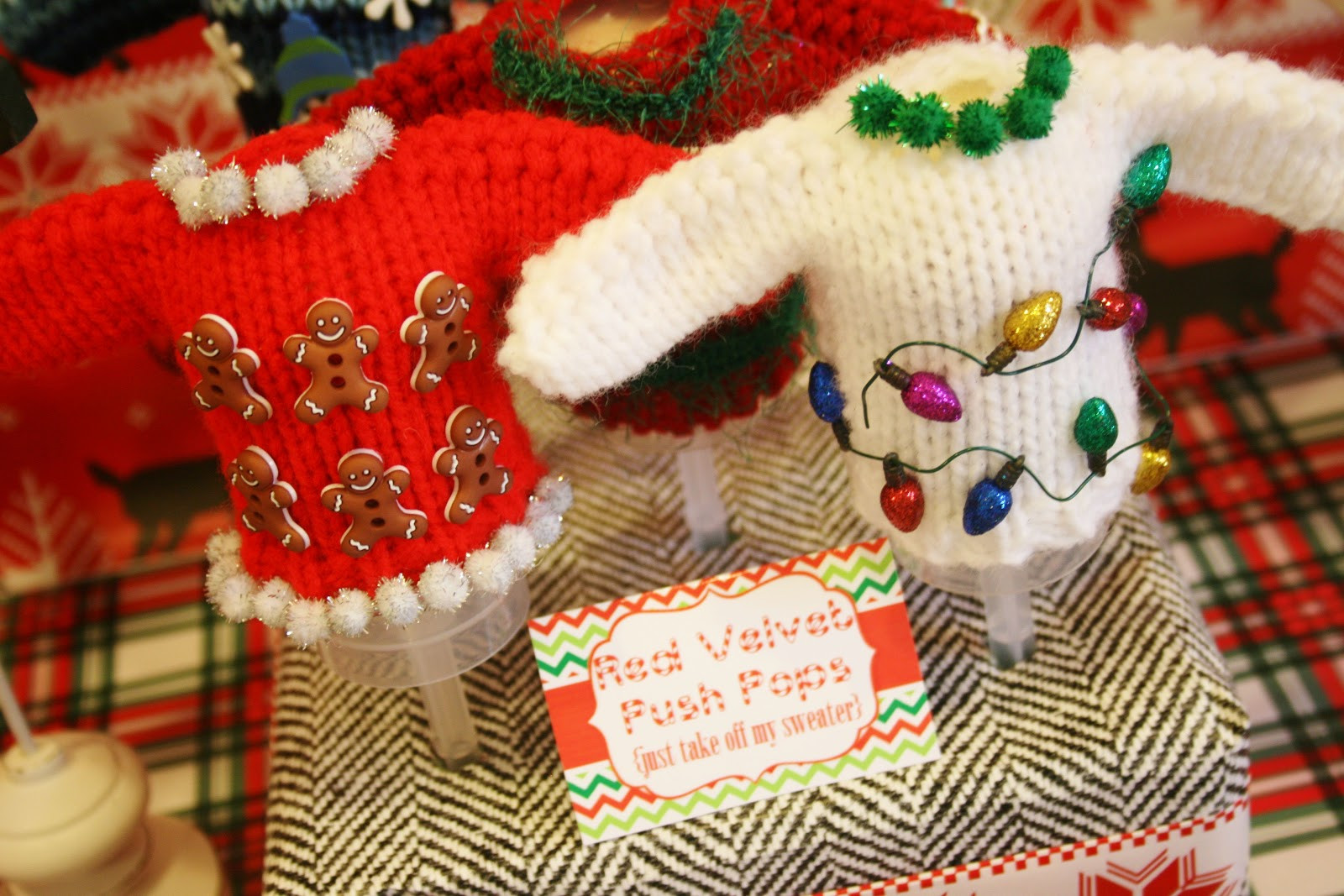 Ugly Sweater Christmas Party Ideas  And Everything Sweet Ugly Sweater Party