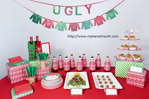 Ugly Sweater Christmas Party Ideas  Ugly Christmas Sweater Party Games Ideas