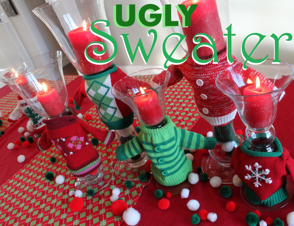 Ugly Sweater Christmas Party Ideas  Ugly Christmas Sweater Party Ideas Oh My Creative