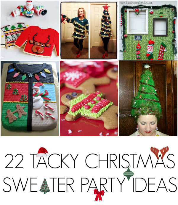Ugly Sweater Christmas Party Ideas  28 Ugly christmas sweater party ideas C R A F T