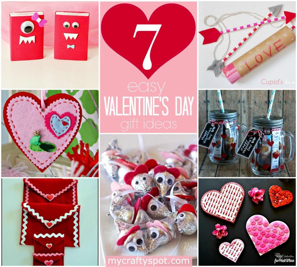 Valentine Day Gift Ideas  Easy DIY Valentine s Day Gift Ideas