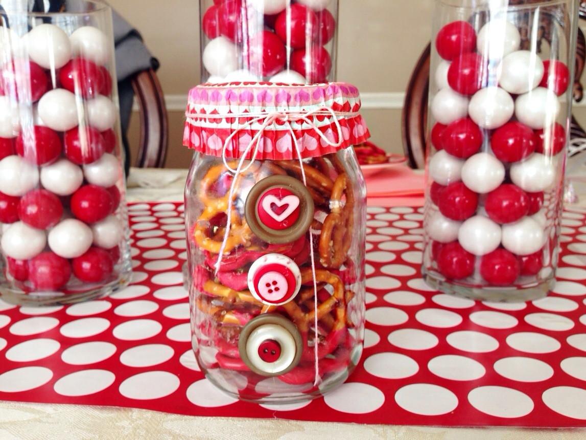 Valentines Gift Ideas  Easy Valentine's Day Mason Jar Gift Ideas Quick DIY and