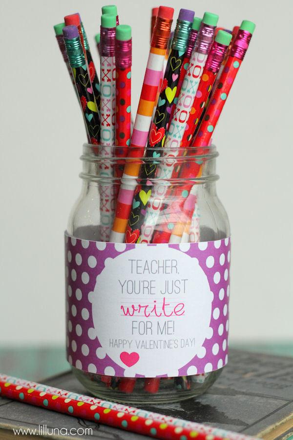 Valentines Gift Ideas  Valentines Teacher Gift